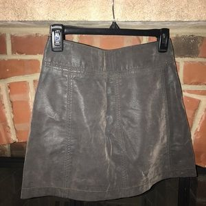 Free People Skirts - Free People Modern Femme Vegan Suede Skirt